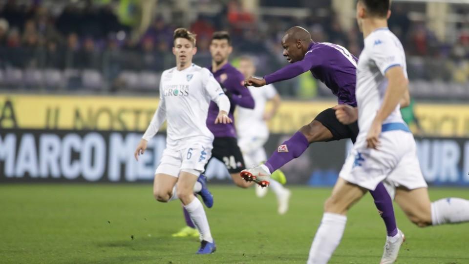 Dabo firma l'ultimo gol della Fiorentina ©