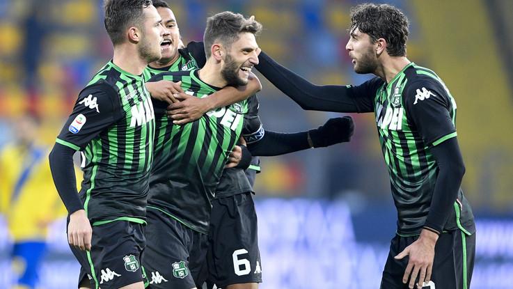 Serie A, Sassuolo passa a Frosinone: Berardi torna al gol