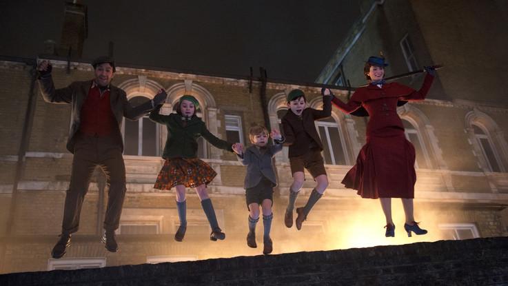 Il ritorno di Mary Poppins e l'addio di Robert Redford: i film al cinema da giovedì 20 dicembre