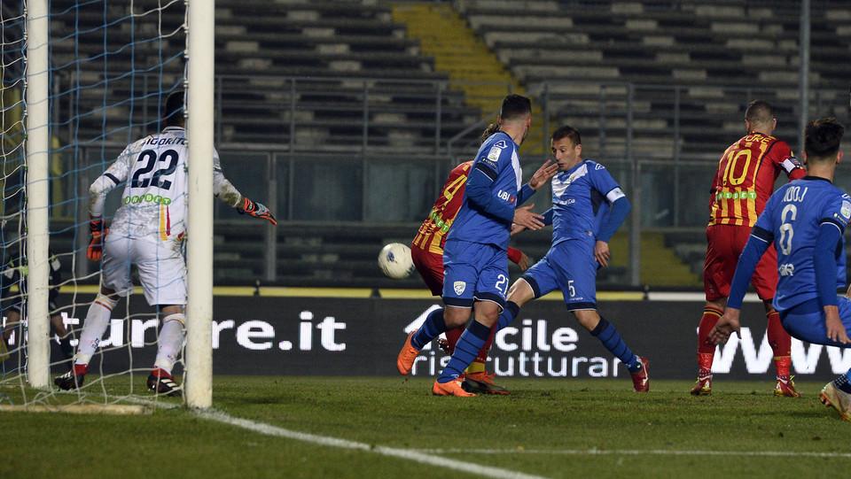 Brescia-Lecce 2-1. Gastaldello fa gol a tempo scaduto ©