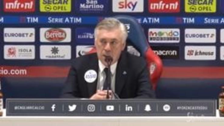 """Ancelotti: """"Piacerebbe tutti una finale di Europa League Napoli-Chelsea"""""""