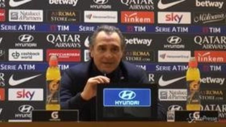 """Serie a Roma-Genoa 3-2, Prandelli: """"Defraudati, ci manca un rigore clamoroso"""""""