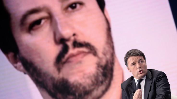 """Renzi-Salvini scontro social: """"Sei ministro pro-tempore"""". """"Conto di farlo per i prossimi 20 anni"""""""