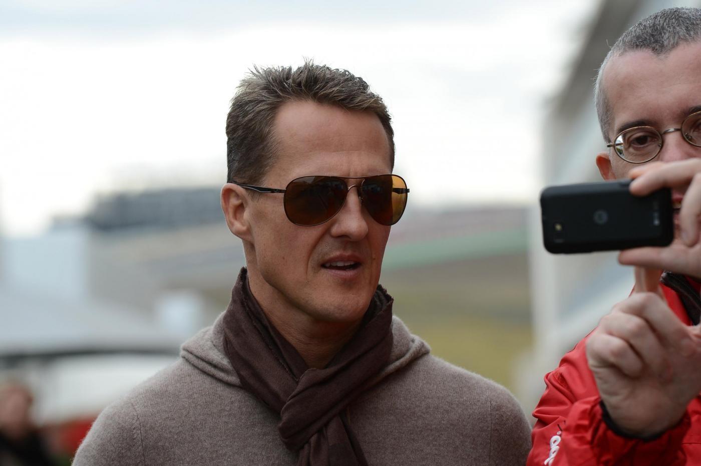 """""""Schumacher non è più attaccato alle macchine ed è cosciente"""""""