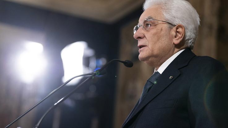 """Mattarella: """"Ue successo straordinario, no a unilateralismo"""""""
