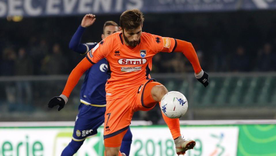 Verona-Pescara 3-1. Mancuso in azione ©