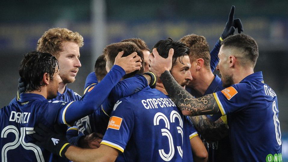 Verona-Pescara 3-1. Del Grosso fa tris ©