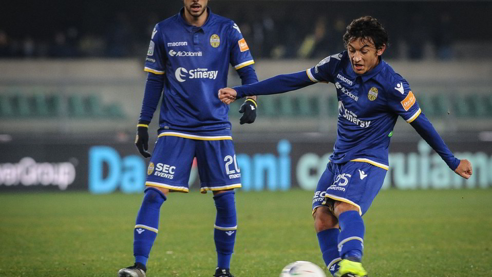Verona-Pescara 3-1. Danzi fa 1-0 ©