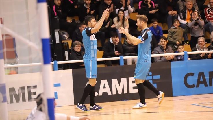 Calcio a 5, Serie A: cinquina Came Dosson al Latina