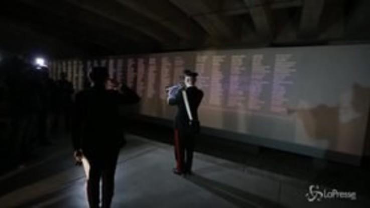 Memoriale Shoah, Liliana Segre torna al binario 21 in visita con 100 carabinieri