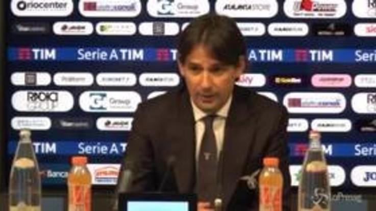 """Lazio, Inzaghi: """"Beffa il gol annullato dal Var"""""""