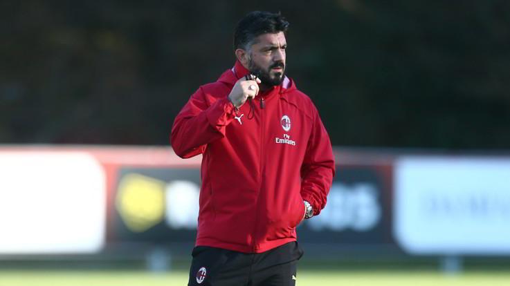 """Bologna-Milan, Gattuso sfida l'amico Inzaghi: """"Dura, ma voglio vincere"""""""