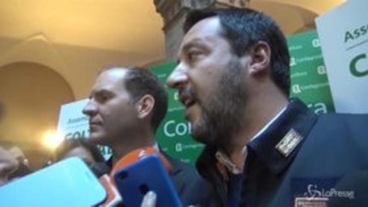 """Manovra, Salvini: """"Sono ottimista, Bruxelles non la tiri ancora lunga"""""""