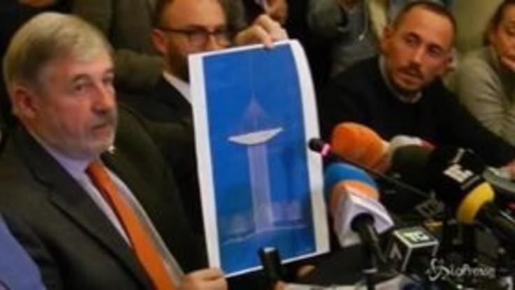 """Genova, Bucci: """"Il nuovo ponte sarà a forma di nave"""""""
