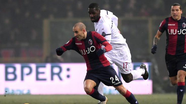 Serie A, tra Bologna e Milan vincono il freddo e la nebbia: al Dall'Ara è 0-0