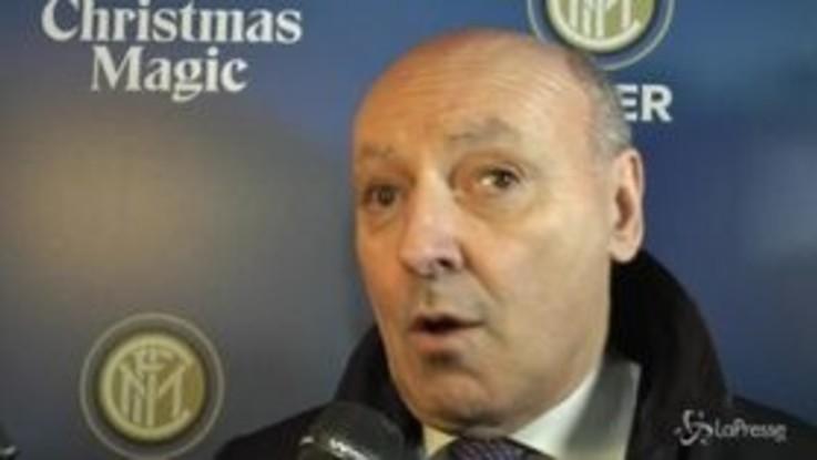 """Marotta: """"Rinnovo Icardi? Grande giocatore merita una gratificazione economica"""""""