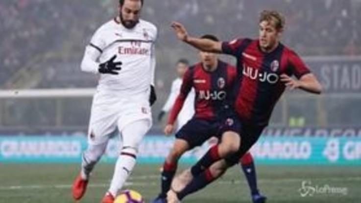 Poche emozioni al Dall'Ara: Bologna-Milan finisce 0-0