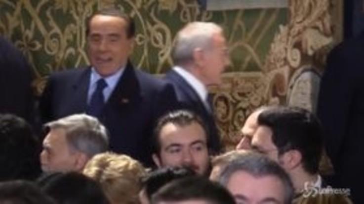 Auguri di fine anno al Quirinale, la scivolata di Berlusconi