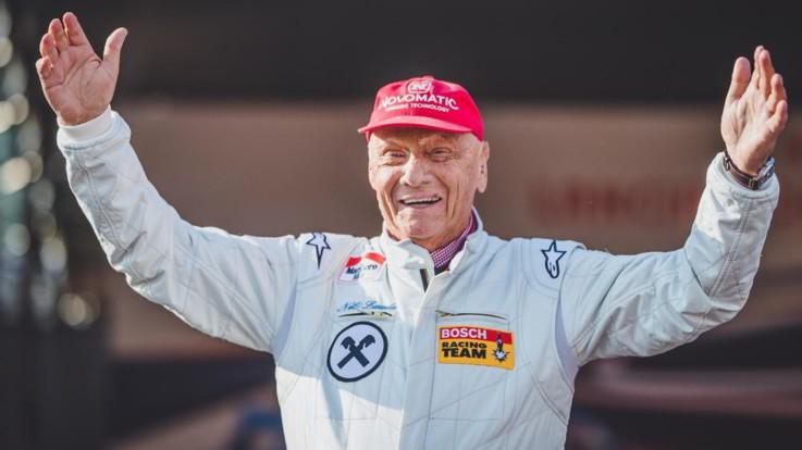 """Niki Lauda: """"Il triapianto di polmoni? Non ho mai avuto paura, sto ancora lottando"""""""