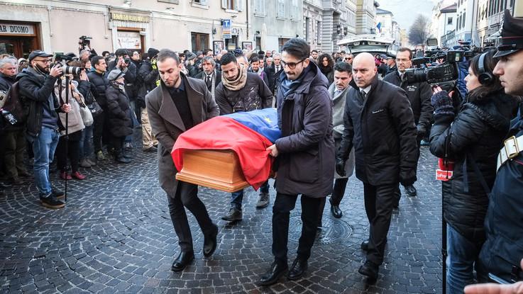 L'ultimo saluto ad Antonio Megalizzi: i funerali a Trento