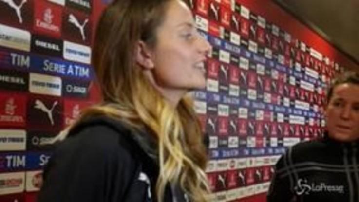 """Milan femminile, Raffaella Manieri: """"Vogliamo apprendere la voglia di vincere di questo club"""""""