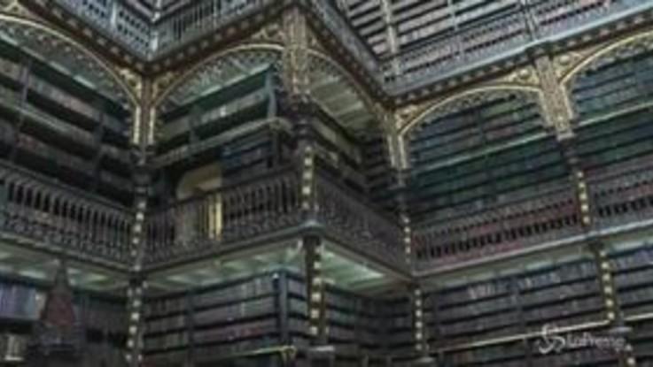A Rio de Janeiro una biblioteca da film