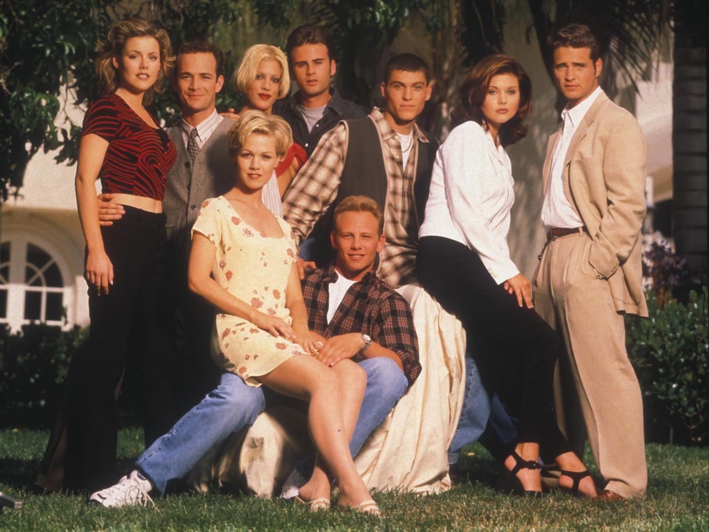 'Beverly Hills 90210', torna la serie cult con il cast originale