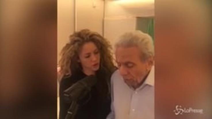 Shakira e il duetto col papà 87enne
