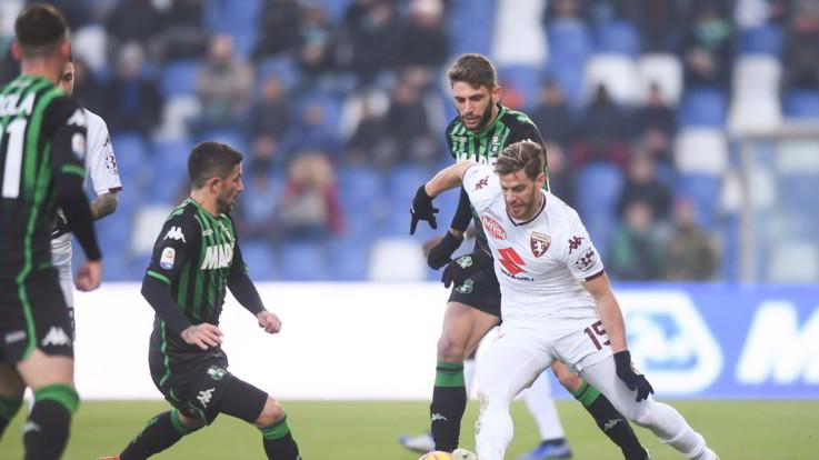 Serie A, Sassuolo-Torino 1-1 | Il Fotoracconto