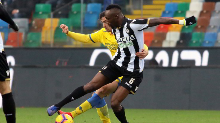 Serie A, Udinese-Frosinone 1-1 | Il Fotoracconto