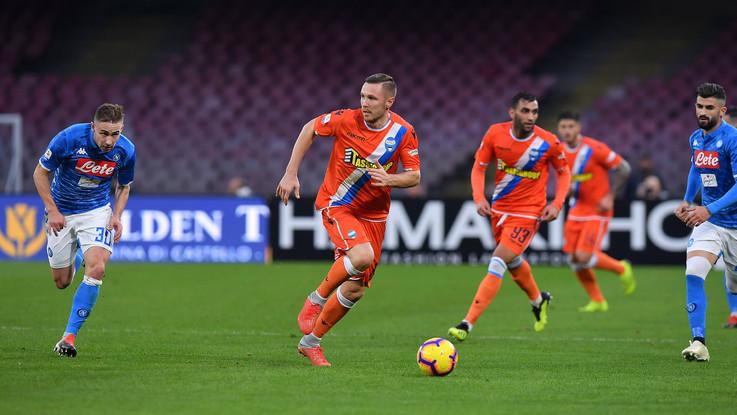 Serie A, Napoli-Spal 1-0 | Il Fotoracconto