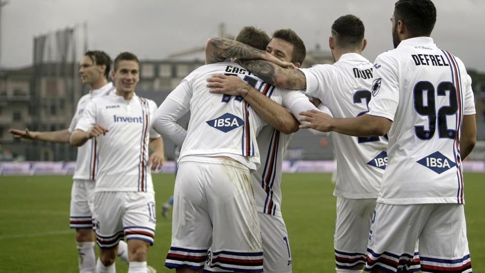 Caprari fa doppietta e la Sampdoria vince 2-4 nel finale ©