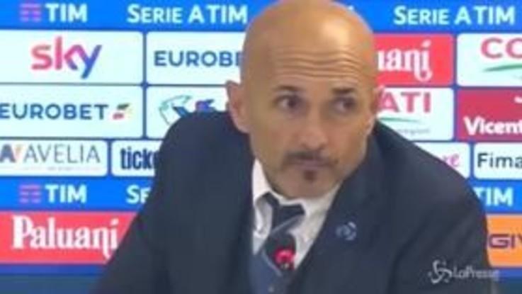 """Serie A Chievo-Inter 1-1, Spalletti: """"In alcuni momenti ci voleva più carattere"""""""