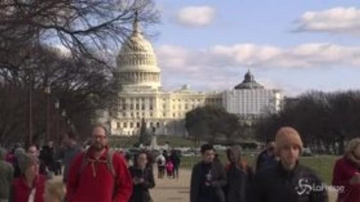 Usa, niente accordo: shutdown fino a dopo Natale