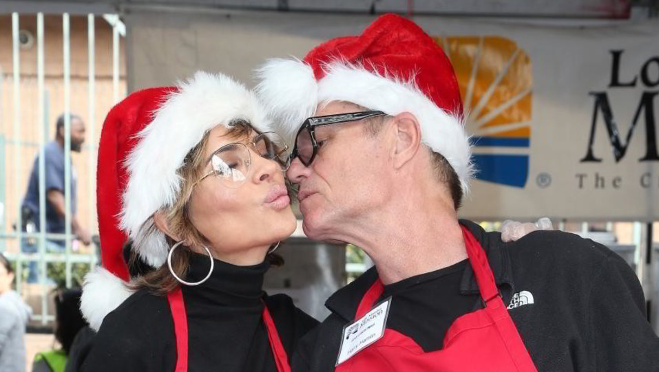 Lisa Rinna e Harry Hamlin ©