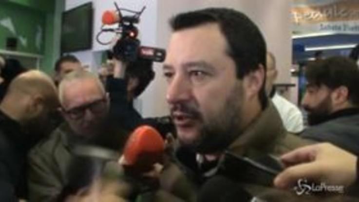 Salvini, il messaggio a Di Maio per Natale