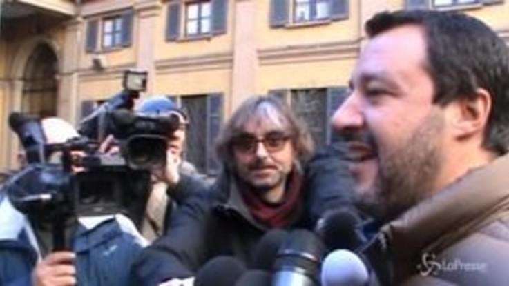 "Milano, Salvini: ""In arrivo nuovi poliziotti"""
