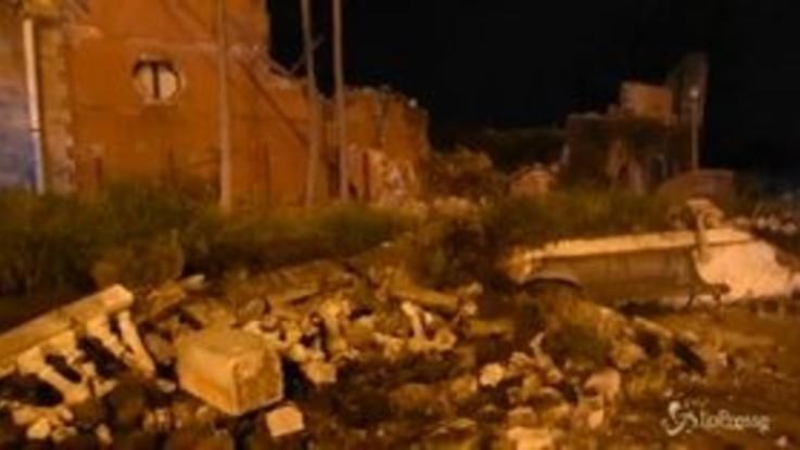 Terremoto a Catania, feriti e danni: le immagini dopo la scossa