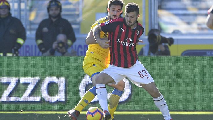 Serie A, Milan sbatte anche a Frosinone: 0-0, digiuno gol continua