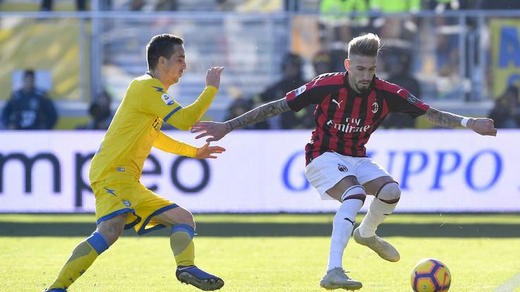 Serie A, Frosinone-Milan 0-0 | Il fotoracconto