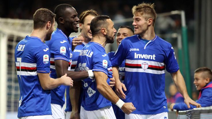 Serie A, Sampdoria-Chievo 2-0   Il fotoracconto
