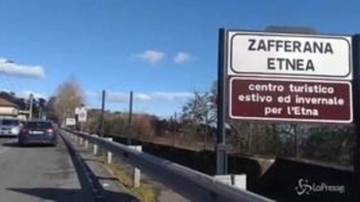 Terremoto nel Catanese, le immagini da Zafferana e Fleri