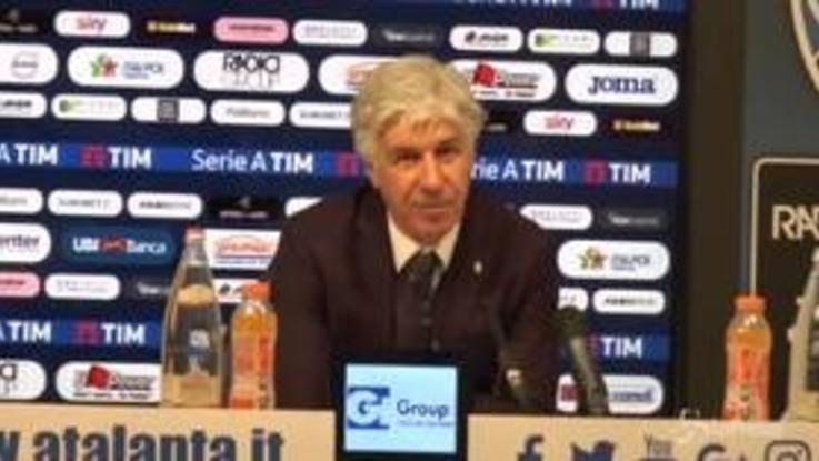 """Atalanta, Gasperini: """"Soddisfatto, siamo stati bravi e siamo andati vicini a chiudere la gara"""""""