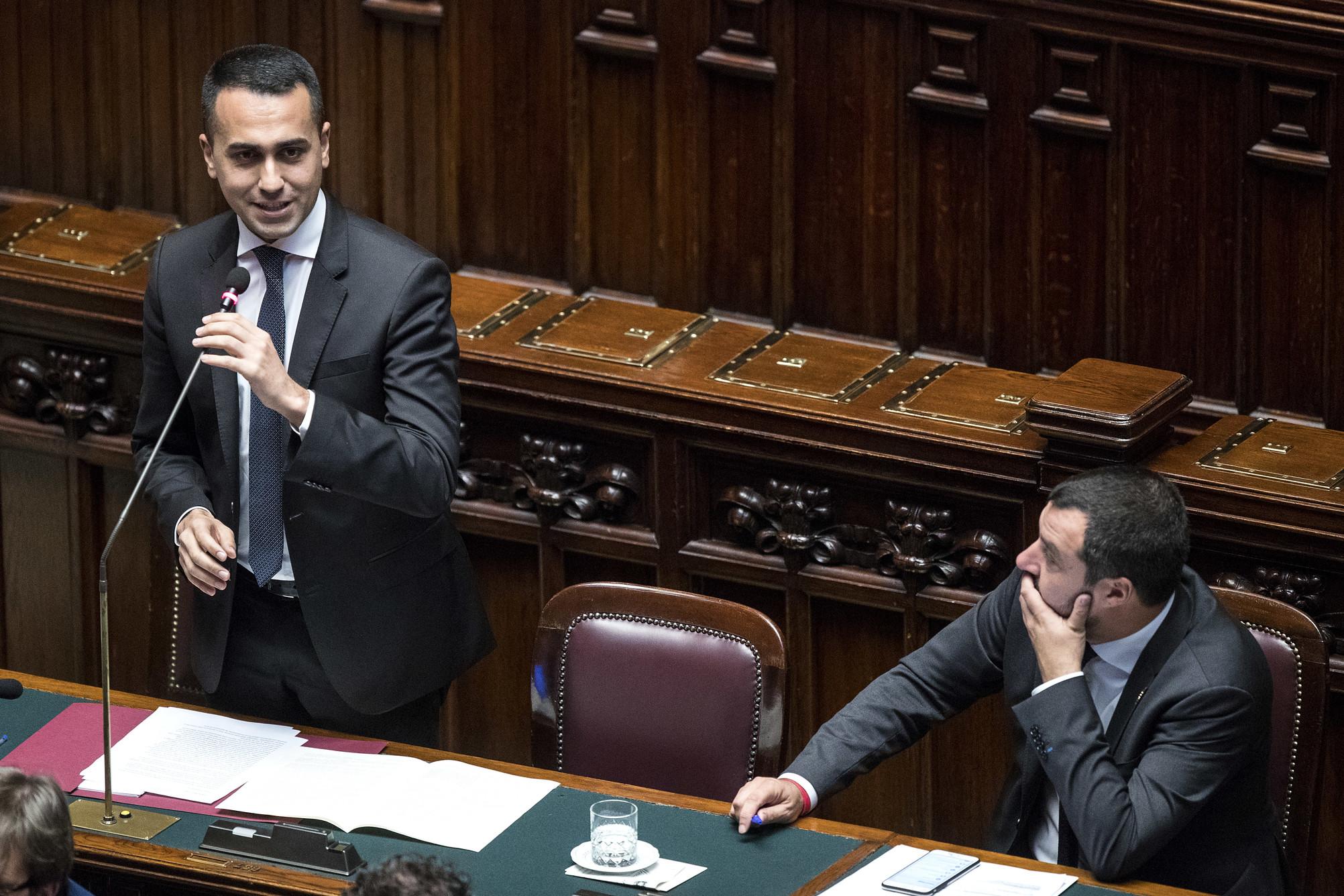 """Manovra alla Camera: Salvini detta i tempi. Di Maio: """"Al centro ci sono i cittadini"""""""