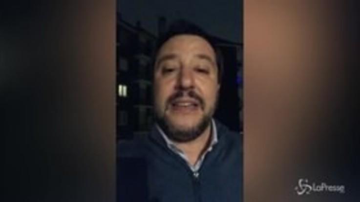 """Salvini: """"Se mi attaccate sulla Nutella governiamo per 30 anni"""""""
