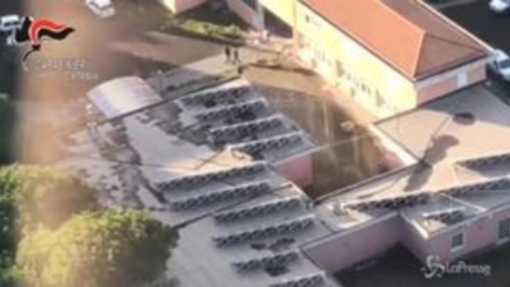 Sicilia, le immagini dall'elicottero delle zone colpite dal sisma