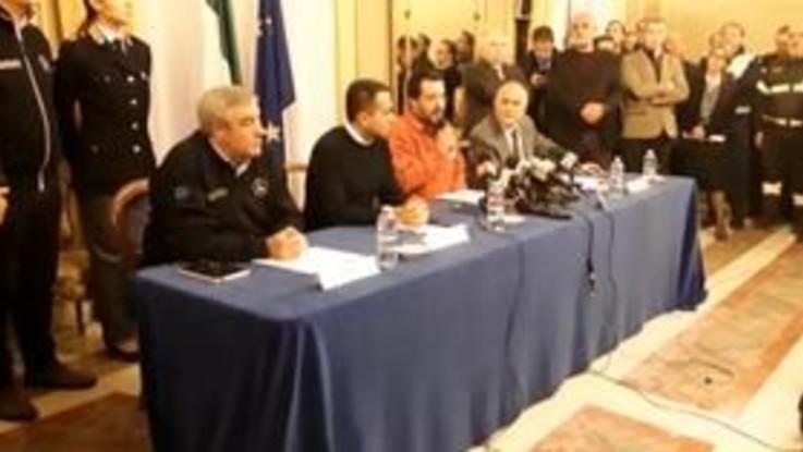 "Sisma nel Catanese, Salvini: ""Pieni poteri ai sindaci"""