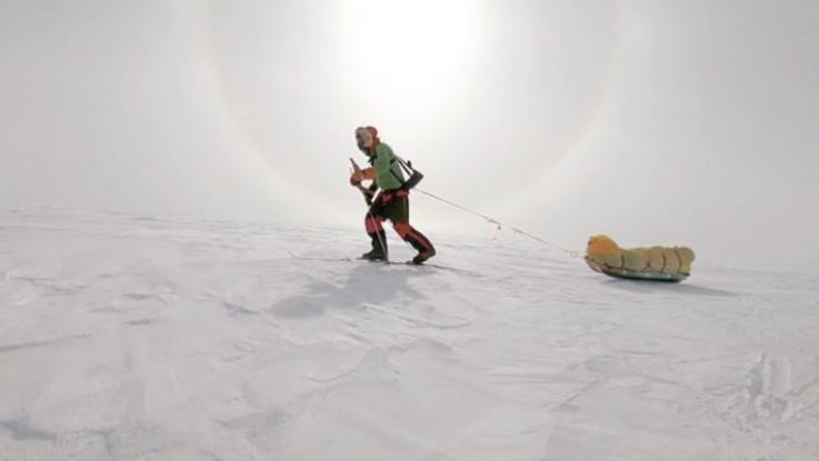 Prima traversata Antartide in solitaria: un atleta Usa fa 1600 km in 54 giorni