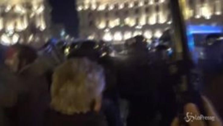 Proteste Ncc, tensioni tra manifestanti e forze dell'ordine