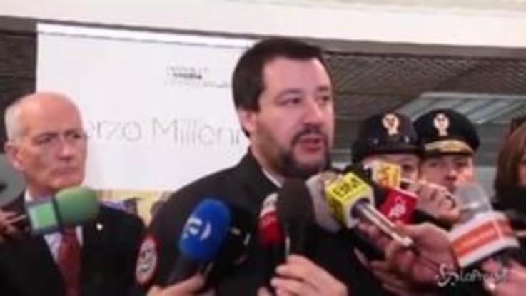 """Violenza negli stadi, Salvini: """"Non confondiamo i delinquenti con i veri tifosi"""""""